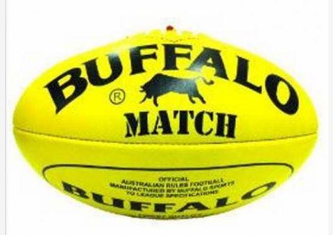 Leather Buffalo Match Ball Size 4
