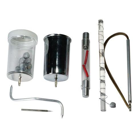Van de Graaff accessories set of 7 items