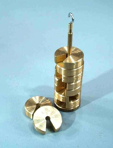 Weight brass slotted 25g