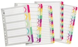Dividers Marbig A4 fluoro 5 tab