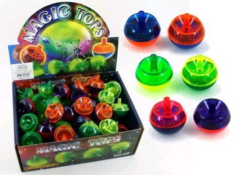 Magic spinning top plastic