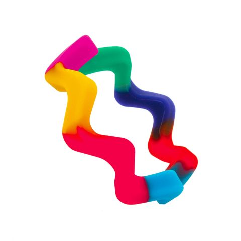 Chewigem Bangle - Wave Rainbow