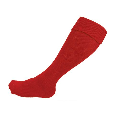 Soccer Socks Red