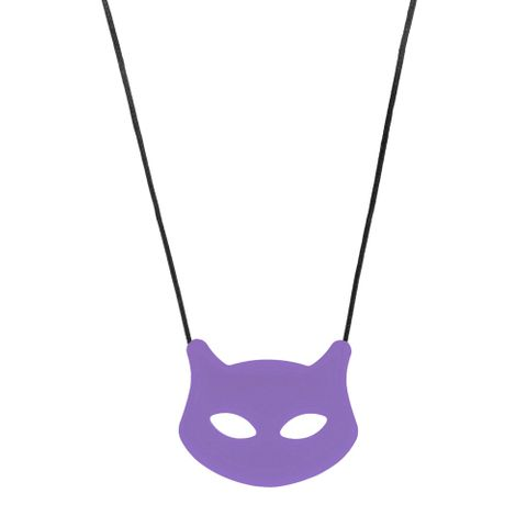Chewigem Necklace - Cat Purple