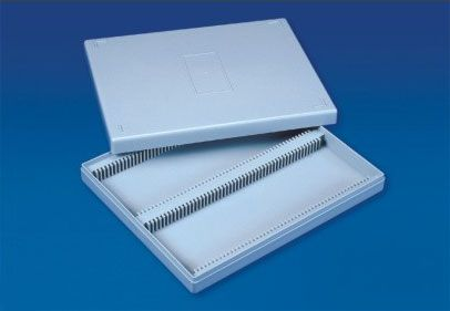 Microscope slide box PS 100 place