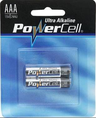 Batteries - Alkaline round AAA