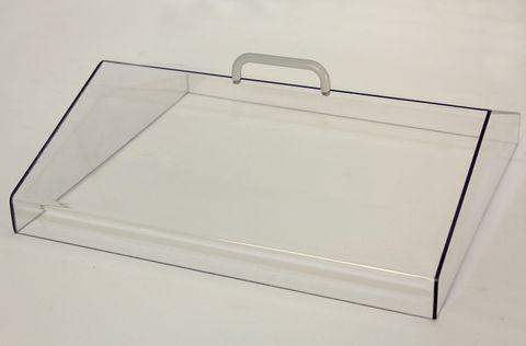 Lid gabled polycarbonate for WB20 bath