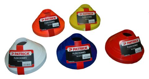 Dome Markers 9cm Flexi Red