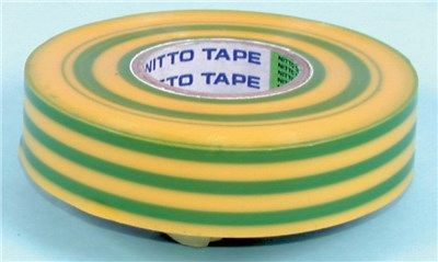 Tape Insulation 19mm x 20m Green/Yellow