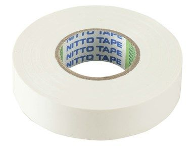 Tape Insulation 19mm x 20m White
