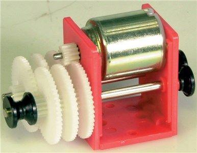 Gearbox motor set