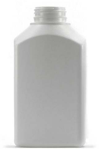 Jar rectangular HDPE 1000ml tamper cap