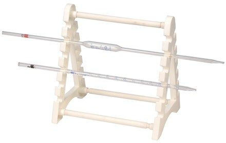 Pipette stand holds 12 pipettes