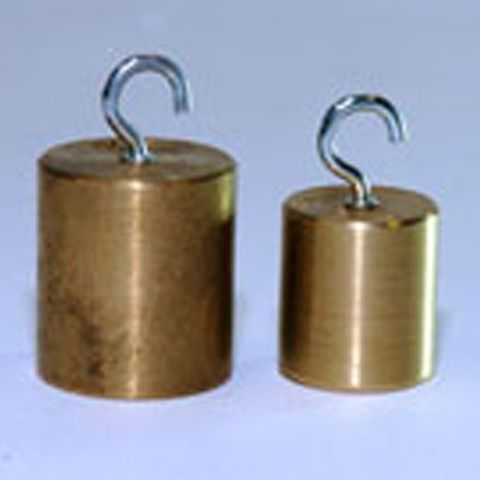 Mass brass with hook 100g