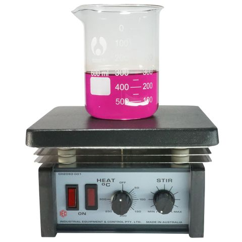 Magnetic stirrer/hot plate therm. PTFE
