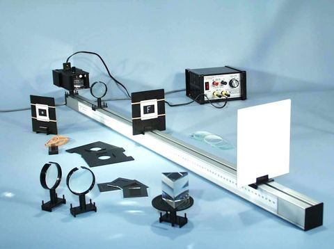 Optical bench & kit includes light box