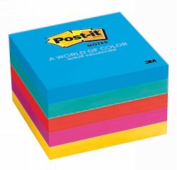 Post it notes 73x73mm ultra colours pk/5