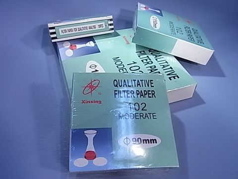 Filter paper qualitative medium 125mm