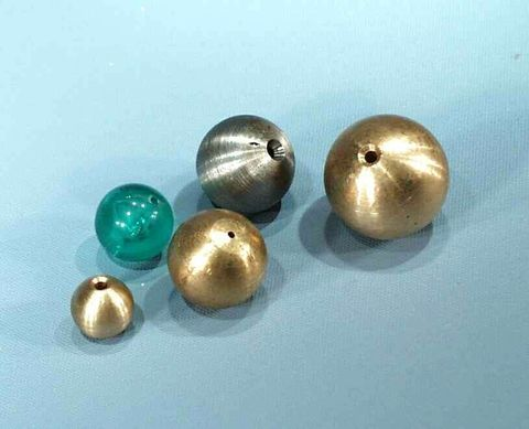 Pendulum bob brass 25mm dia