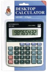 Calculator 8-digit desktop model