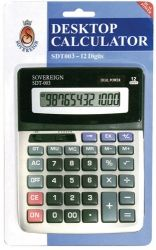 Calculator 12-digit large desktop
