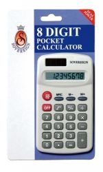 Calculator 8-digit pocket size