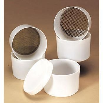 Sieve set #6 #20 #40 #100 101mm diam.
