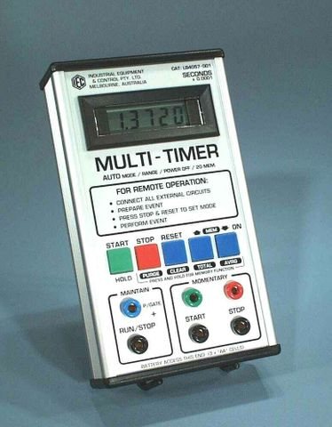 Timer multi event 5 digit LCD