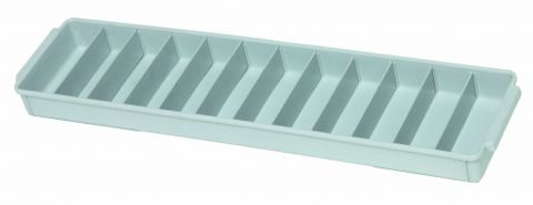 Storage tray PP small 60x15x5cm Grey