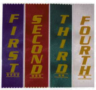 First Place Ribbons