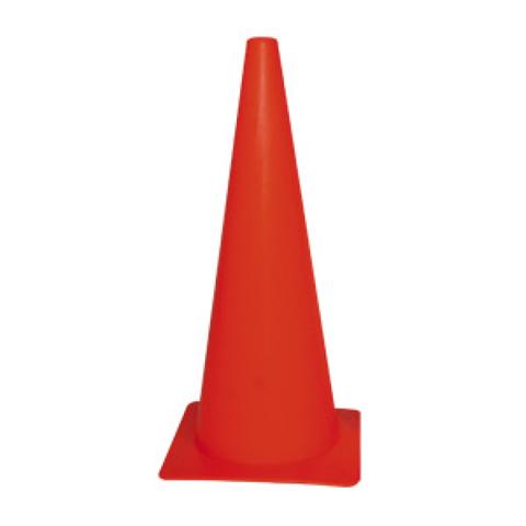 Plastic Witches Hat- Orange 45cm