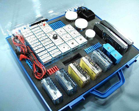 Electronics kit complete IEC