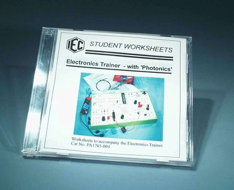 Photonics - worksheets on CD 1 p/school