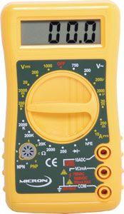 Multimeter digital 19 ranges