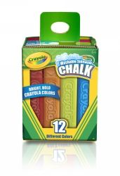 Chalk Crayola washable sidewalk assorted
