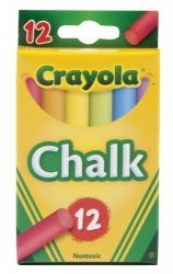 Chalk Crayola assorted colours