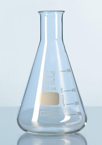 Flask Erlenmeyer NM glass 300ml Schott