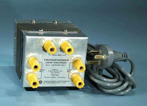 Transformer 240/12V 12A x3 outputs