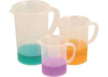 Measuring jugs 3p 250,500 & 1000ml