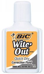 Correction fluid 20ml Bic wite-out