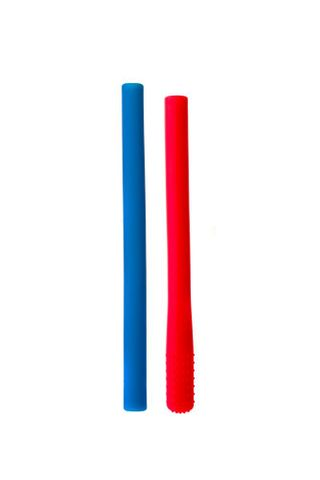 Chewigem pencil cover  - Red/Blue
