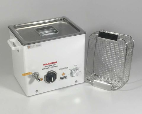 Ultrasonic cleaner 10.7lt mech. & heater