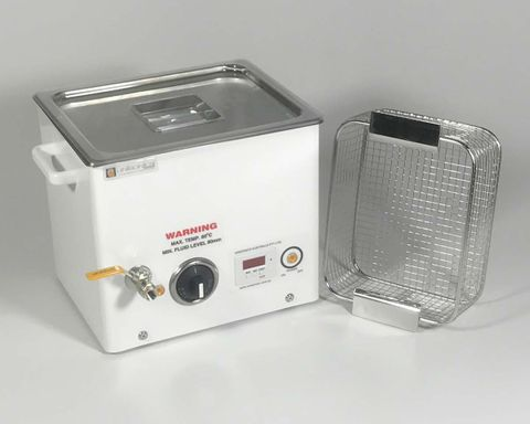 Ultrasonic cleaner 10.7lt dig. & heater