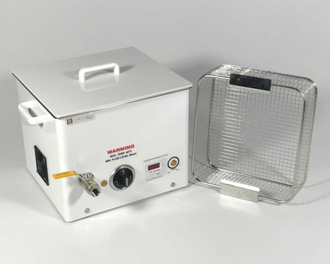 Ultrasonic cleaner 14.0lt dig. & heater