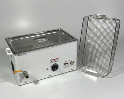 Ultrasonic cleaner 20.0lt dig. & heater