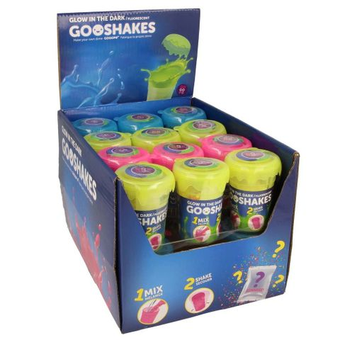 Gooshakes - make your own glow putty
