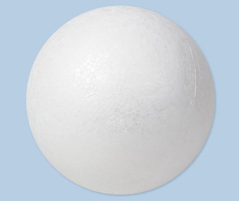 Polystyrene ball 40mm diameter