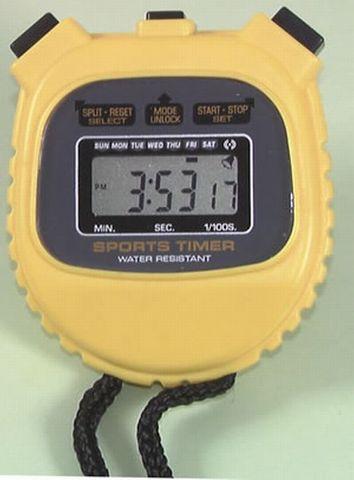 Stopwatch quartz LCD