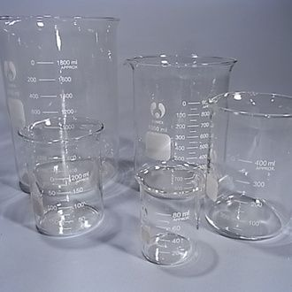 Beaker glass low form economy 5ml