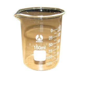 Beaker low form glass 150ml economy